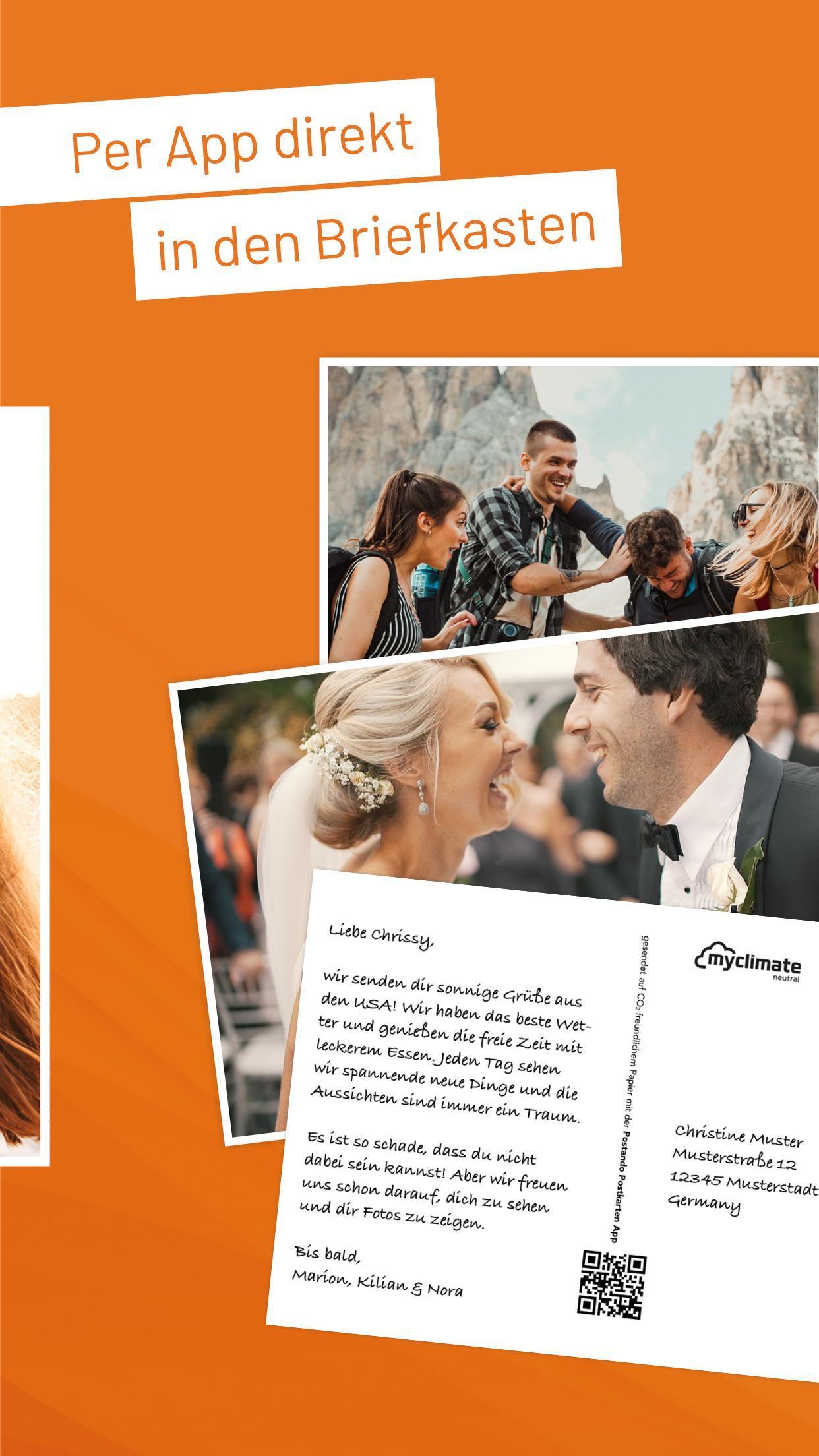 Postando - Postcard App & Photo Greeting Cards App screenshot 3