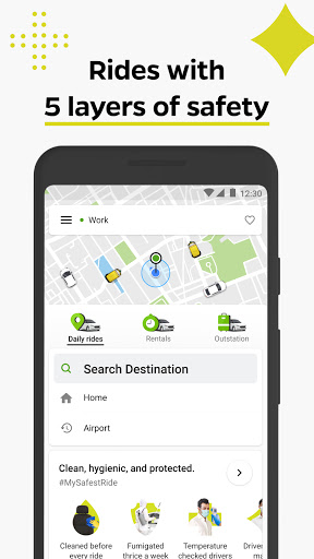 Ola, Safe and affordable rides скриншот 1