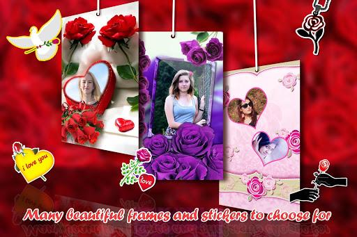 Rose Photo Frames HD 12 تصوير الشاشة
