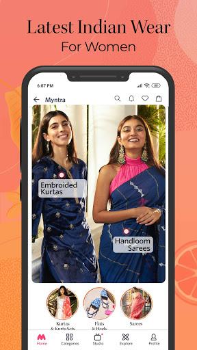 Myntra Online Shopping App - Shop Fashion & more screenshot 3