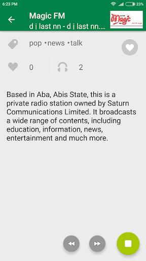 Online Radio Nigeria 2 تصوير الشاشة