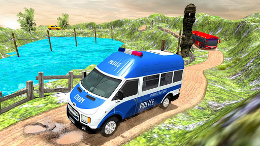 US Police Car Chase Driver:Free Simulation games screenshot 4