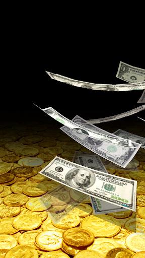 Falling Money 3D Live Wallpaper 4 تصوير الشاشة