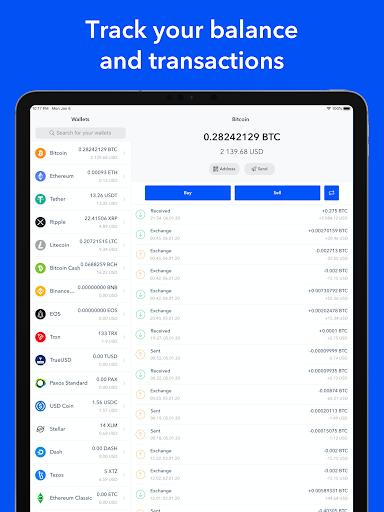 Bitcoin Wallet - Buy BTC 5 تصوير الشاشة