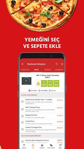 Yemeksepeti - Yemek & Market Siparişi screenshot 5