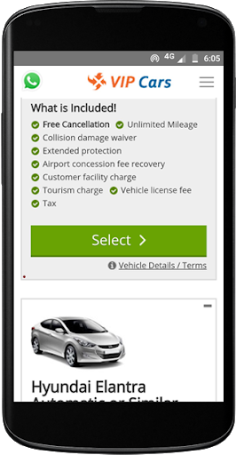 VIPCars.com – Car Rental screenshot 5