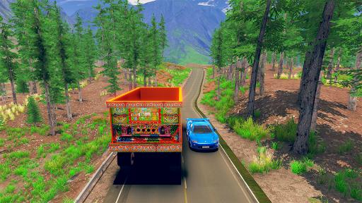 Asian Truck Simulator 2020: เกมขับรถบรรทุก screenshot 2