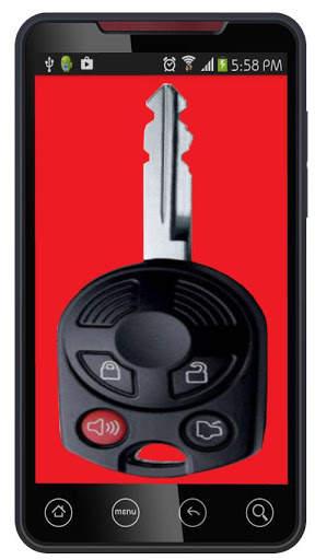 مفتاح السيارة عن بعد قفل محاكي 7 تصوير الشاشة