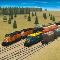 Train and rail yard simulator on APKTom