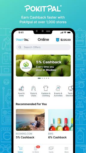 PokitPal – Cash Back & Rewards screenshot 1