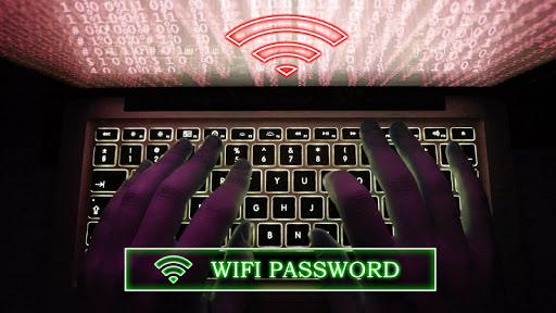 Wifi Password Hacker Prank 2 تصوير الشاشة