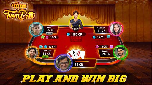 Tubb Teen Patti - Indian Poker - TTP 1 تصوير الشاشة