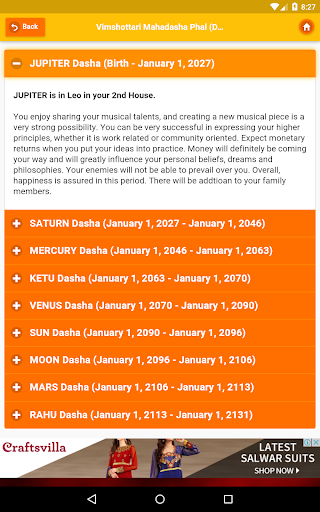 Kundli Software - Astrology 2021 Horoscope screenshot 14