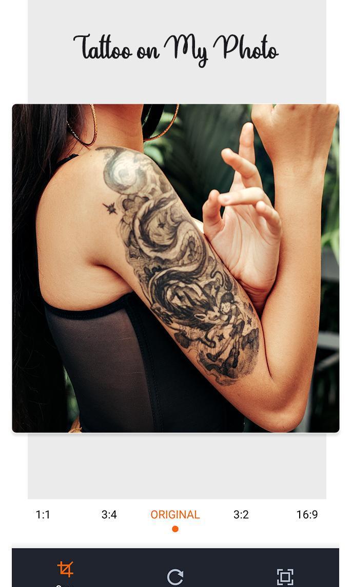 Tattoo my photo: tattoo photo editor screenshot 3