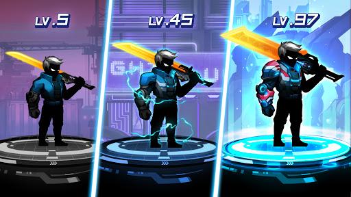 Cyber Fighters: League of Cyberpunk Stickman 2077 screenshot 4