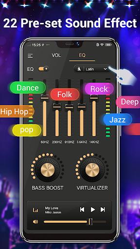 Efek musik Equalizer-Audio screenshot 4