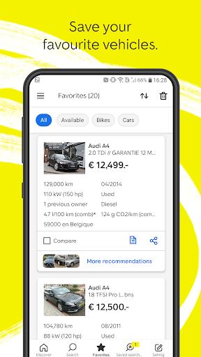 AutoScout24 - used car finder 5 تصوير الشاشة