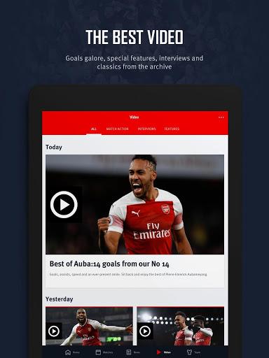Arsenal Official App 15 تصوير الشاشة