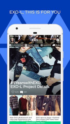 EXO-L Amino for EXO Fans 1 تصوير الشاشة