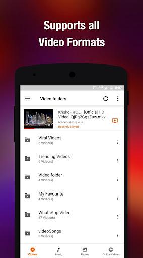 Video Player All Format - Full HD Video mp3 Player screenshot 3