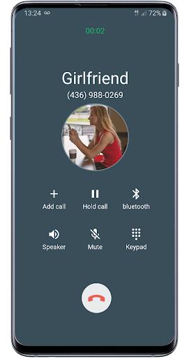 Fake call girlfriend prank screenshot 2
