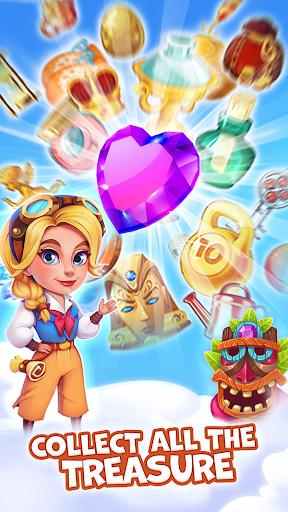 Pirate Treasures - Gems Puzzle 14 تصوير الشاشة