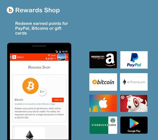 bituro - Rewards & Bitcoins screenshot 5
