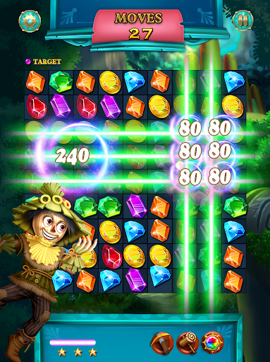 Jewels Star: OZ adventure 3 تصوير الشاشة