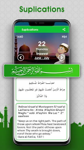 مواقيت الصلاة: وقت الصلاة و اتجاه القبلة 7 تصوير الشاشة