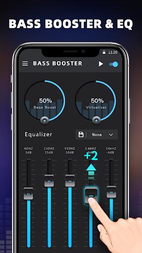 Bass Booster & Equalizer screenshot 1