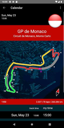 Racing Calendar 2021 screenshot 2