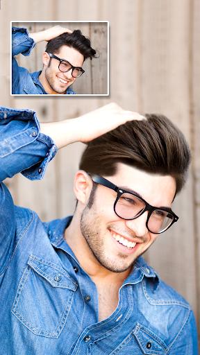 Man Hair Style : New hair, mustache, beard styles screenshot 1