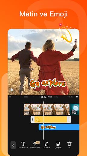Video Duzenleyici & Video Yapma Programı screenshot 4