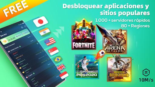 XY VPN - Gratis, Seguro, Desbloquear, Super screenshot 1