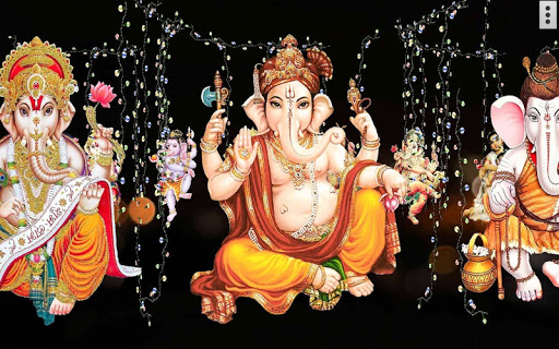 4D Ganesh Live Wallpaper скриншот 3