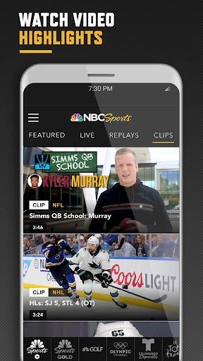NBC Sports 3 تصوير الشاشة