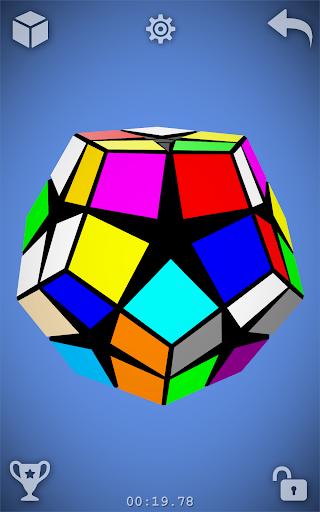Magic Cube Puzzle 3D 15 تصوير الشاشة
