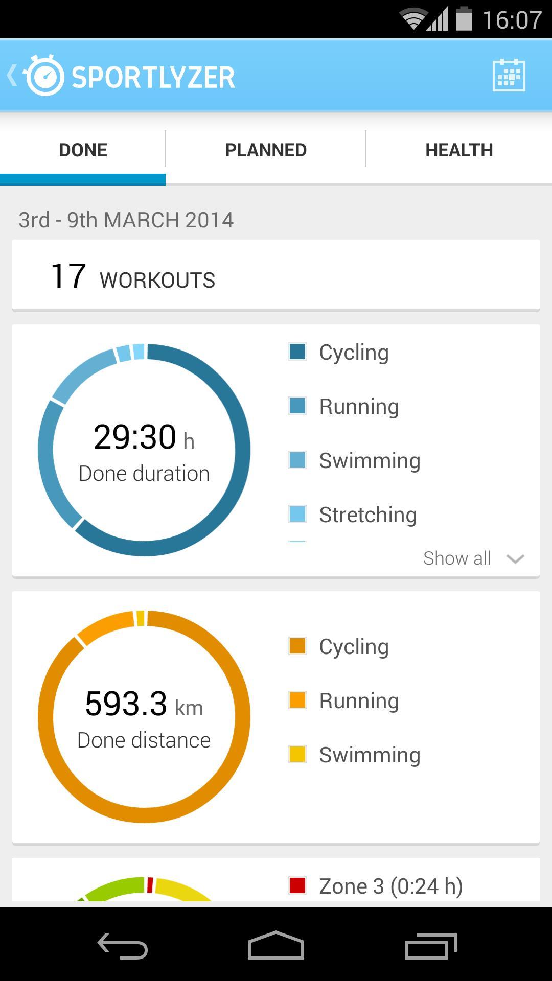 Sportlyzer Pro Player App screenshot 8