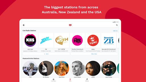 iHeartRadio - Free Music, Radio & Podcasts screenshot 12
