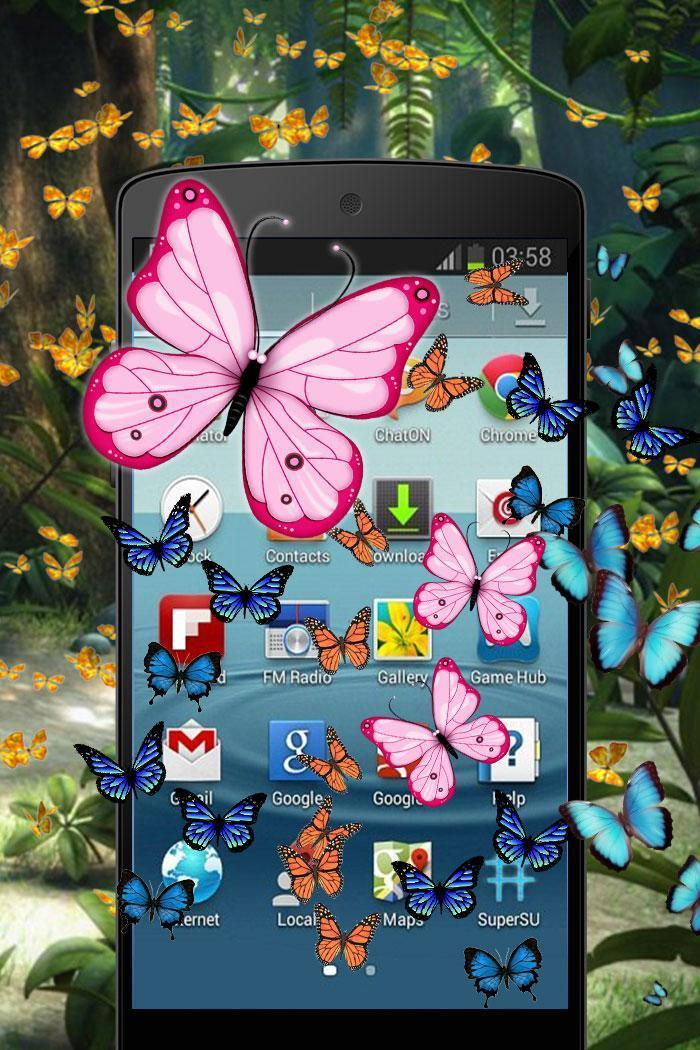 Butterfly in Phone Funny Joke screenshot 4