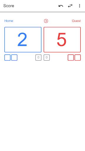 Volleyball Score Simple screenshot 1