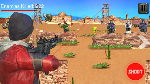Alpha Sniper Shooting Strike स्क्रीनशॉट 5
