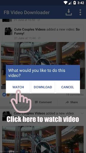 Video Downloader for Facebook screenshot 5