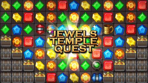 Jewels Temple Quest : Match 3 स्क्रीनशॉट 3