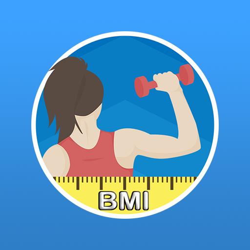 BMI Calculator & WHR Ratio أيقونة