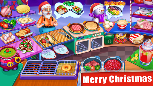 Cooking Express : Food Fever Cooking Chef Games 2 تصوير الشاشة