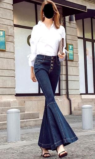 Girls Jeans Photo Suit screenshot 3