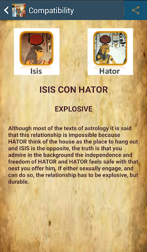 Horoscope and Tarot Egyptian screenshot 7