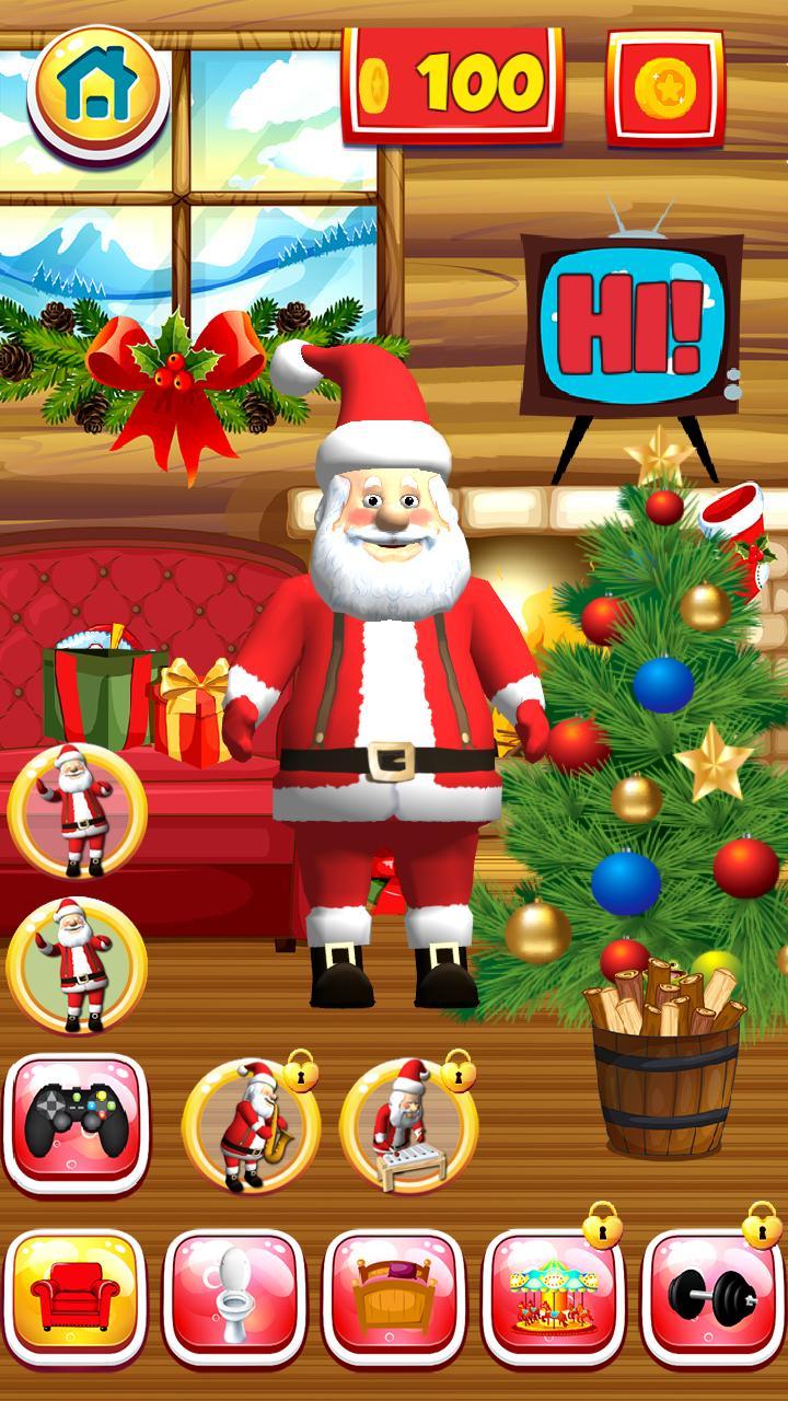 Talking Santa screenshot 3