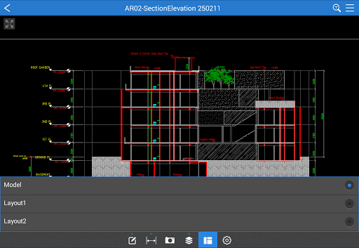 CAD Reader-Fast Dwg Viewer and Measurement Tool screenshot 6